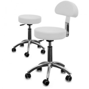 Kosmetická židle s opěradlem AM 304