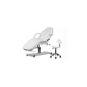 Kosmetické lehátko A-210 + Kosmetická židle s opěradlem AM-304 .