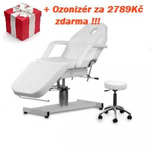 Kosmetické lehátko A-210 + Kosmetická židle(taburet)  AM-303 .